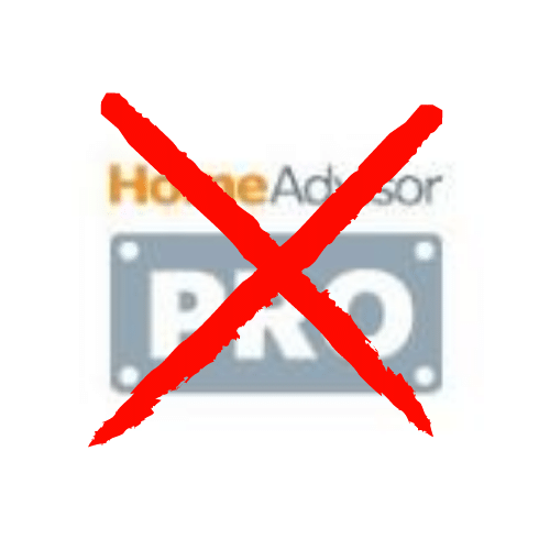 HomeAdvisor Pro Just say no
