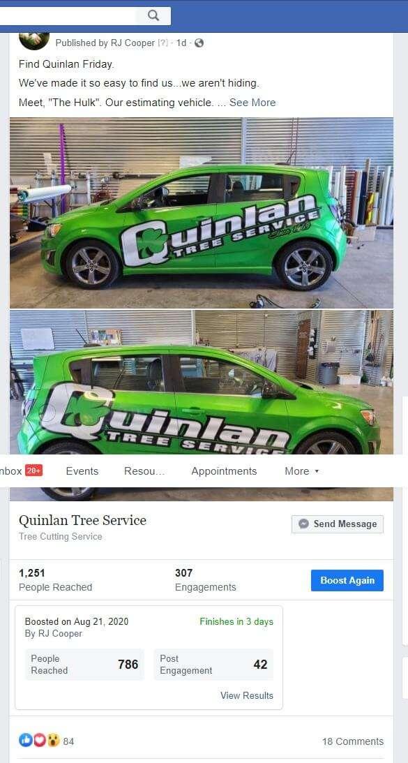 Social media marketing plan for tree service companies