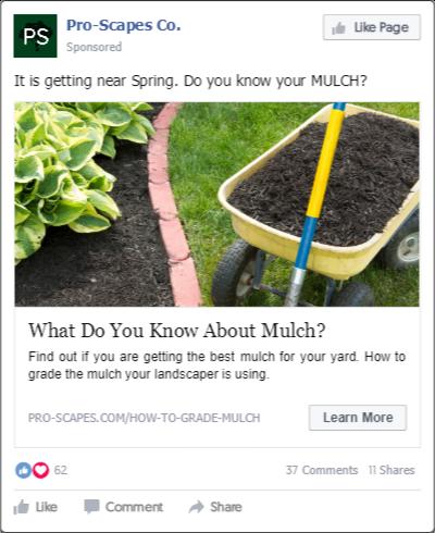 Social Media Marketing Management for Landscaping Businesses