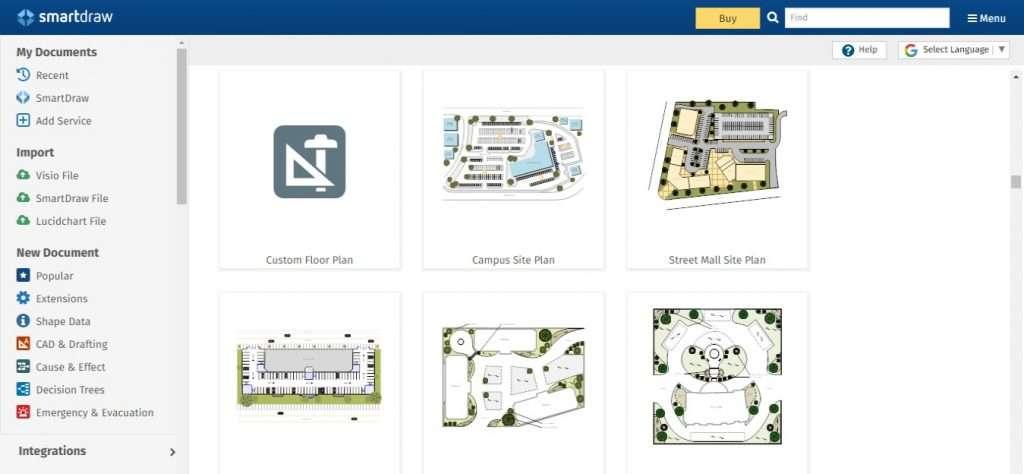 SmartDraw Design software